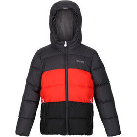 Regatta Lofthouse V Jacket Kids, grijs/zwart